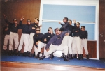 Fall 1988 Alpha Sphinxmen  perform during 'slave' auction